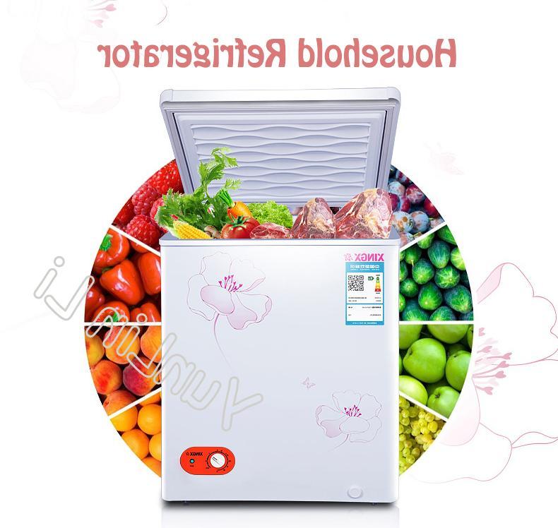 106L Home Store Refrigerators Mini Cooling Heating Box Saving Fridge Dual-Use BD/BC-106E