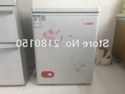106L Home Fridge Store Refrigerators <font><b>Freezer</b></font> Cooling Heating Box Food Saving Dual-Use