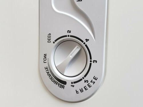 New Double Door Chest Freezer. 15.0 Ft Keys include