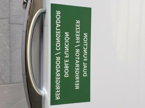 New Door Chest Freezer. Ft Lock & include