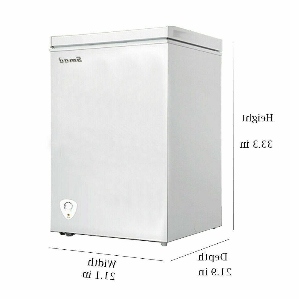 SMAD Mini Fridge Single Door Freezer