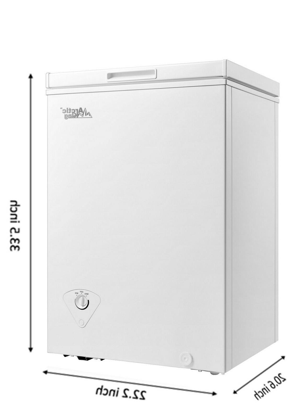 Arctic King 3.5 cu ft Chest Freezer White FREE SHIPPING - TO