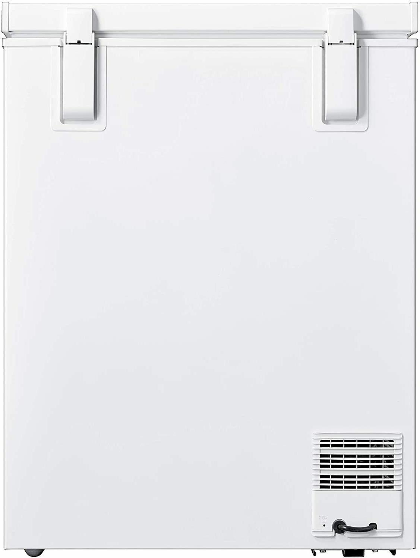 Smad Compact Chest Freezer Water Drain Garage Kitchen Energy-saving