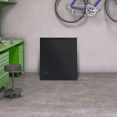 5.0 cu Chest Deep Freezer Dorm Black NEW