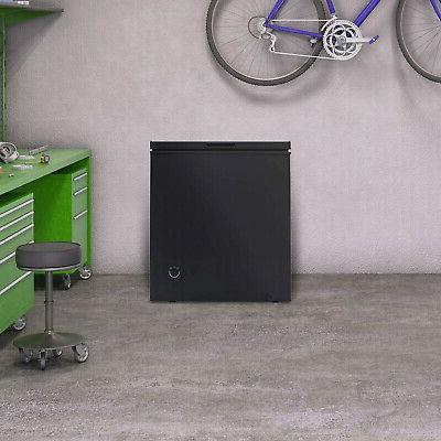 Chest Deep Freezer Cu Ft Dorm Upright Apartment Home Black NEW