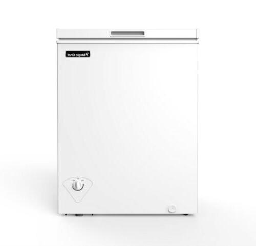 5 0 cu ft chest freezer white