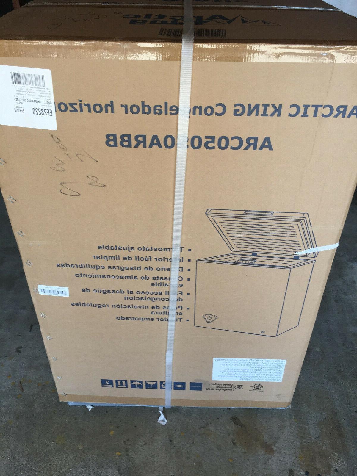 5 0 cu ft conglelador horizontal freezer