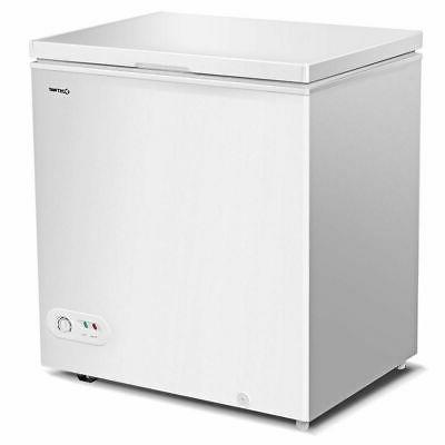 5 2 cu ft compact chest freezer