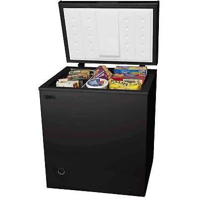 5 cu ft chest freezer compact cooler