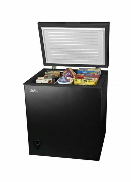 5 cu ft black chest freezer brand