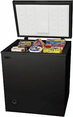 Arctic King 5 cu ft Chest Freezer New Storage Compact Black