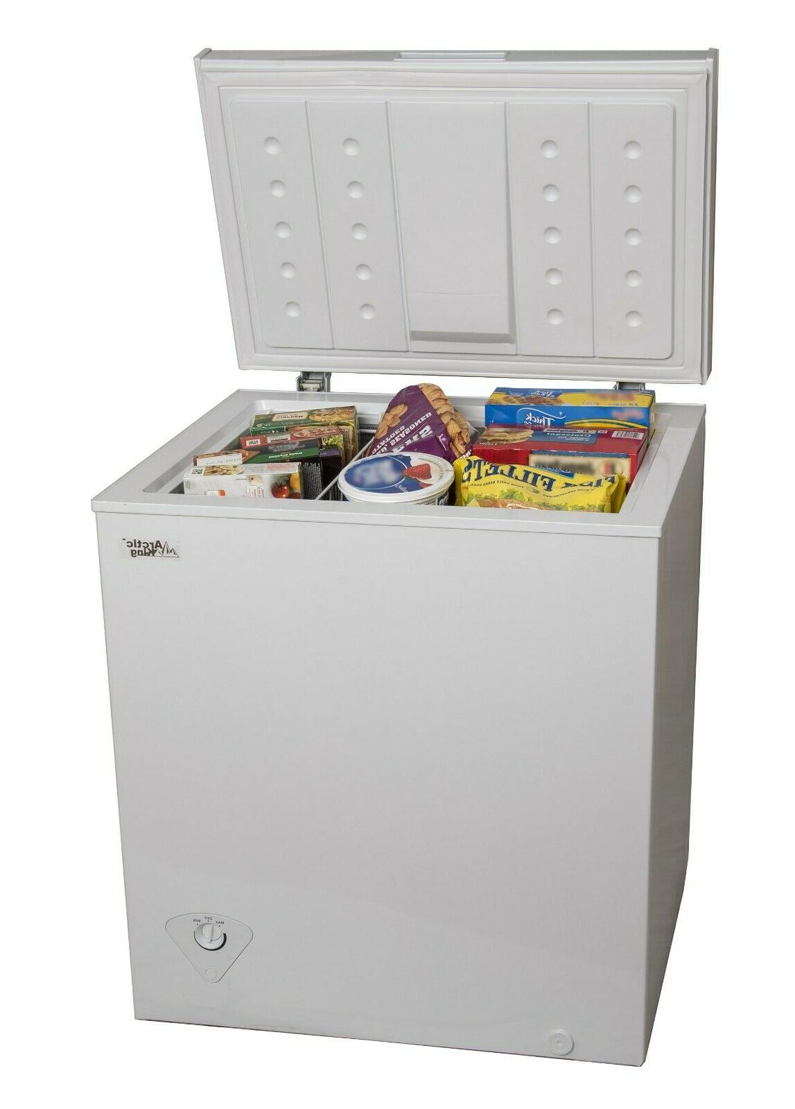Capacity Chest Freezer Haier HF50CM23NW 5.0 cu White ft