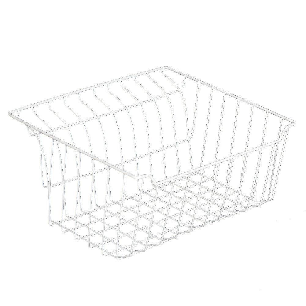Smeta Chest Freezer Whie Basket