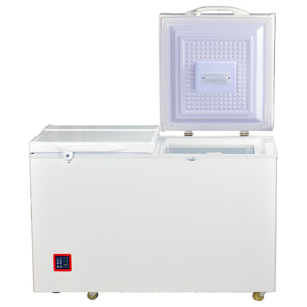 SMAD 7.5 ft Solar Freezer Dual Chest AC