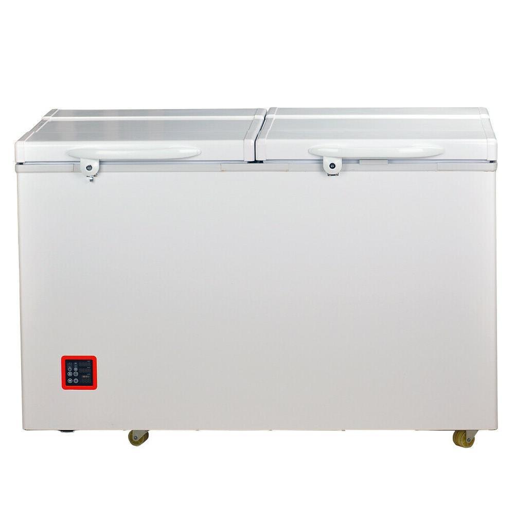 Smeta Solar Refrigerator DC 12V AC 7.5 cu ft Camping Chest F