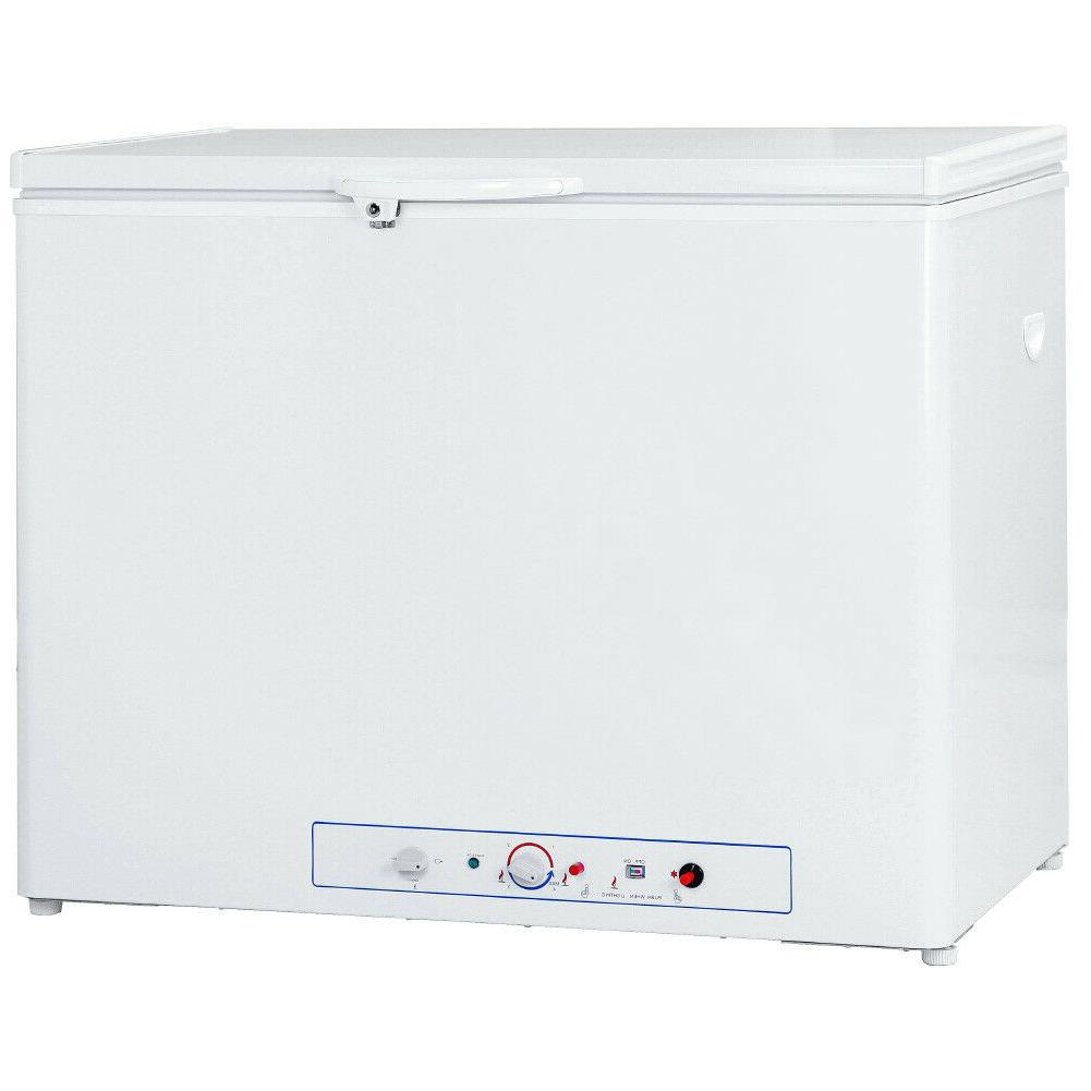 SMAD 7.0 Cu Ft Propane Gas Freezer LPG Refrigerator Farm Res