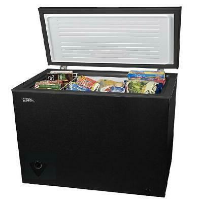 Chest Freezer 7 Removable Storage Black