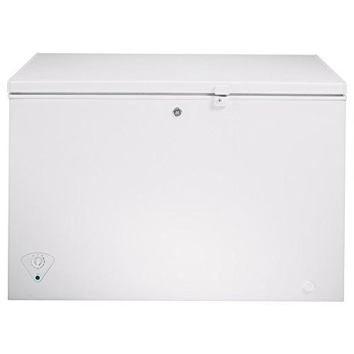 Ge - 10.6 Cu. Ft. Chest Freezer - White