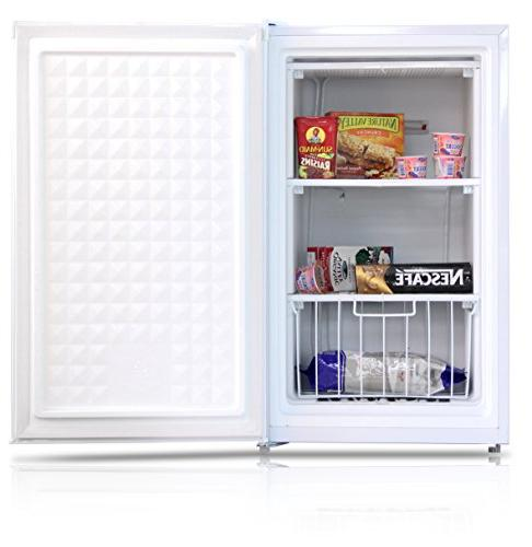 Midea Compact Reversible Freezer, 3.0 Feet,