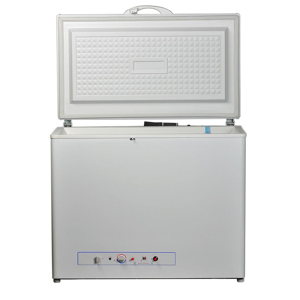 SMAD 5.5 Cu Ft Propane Freezer Chest Freezer 110V/ Off-Grid