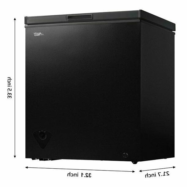 arc070s0arbb 7 cu ft chest freezer black