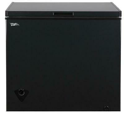 Black Deep Chest Freezer 7 CU.FT. To Clean *BRAND