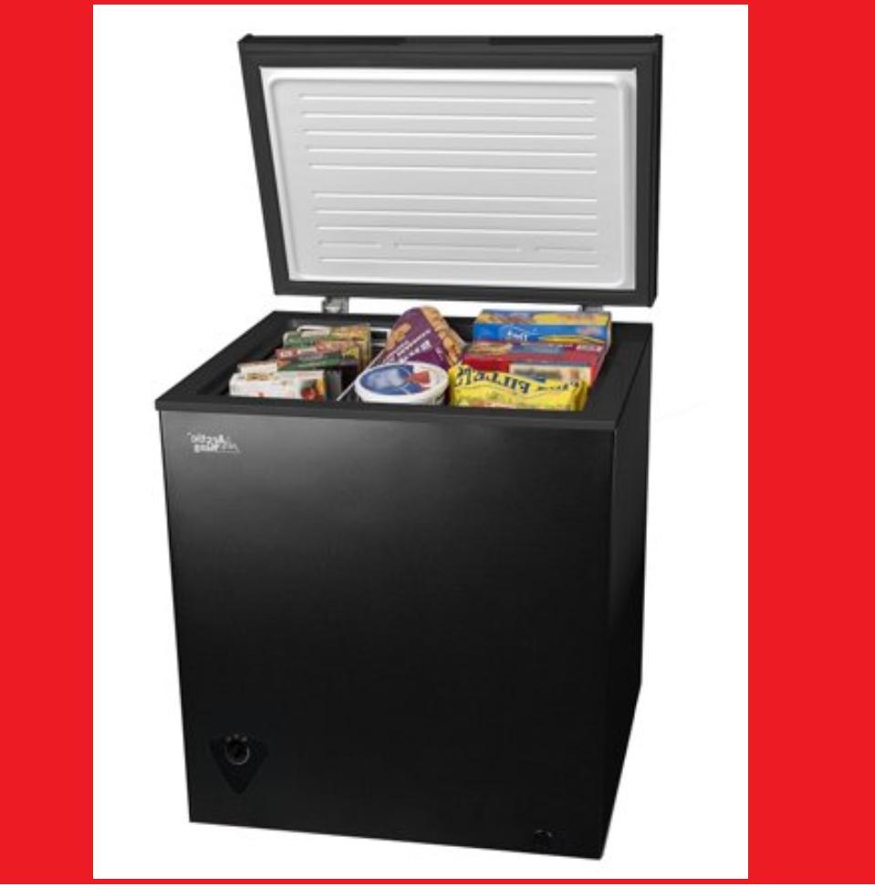brand new 5 cu ft chest freezer