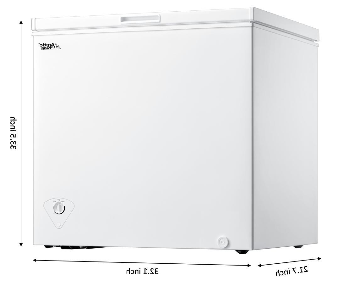 ⚡️ NEW SHIP ⚡️ Arctic 7.0 cu Chest Freezer - White