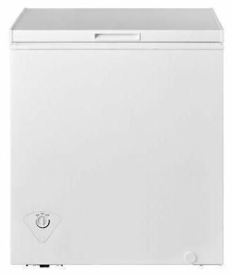 Chest Freezer 5.0 cu Dorm White