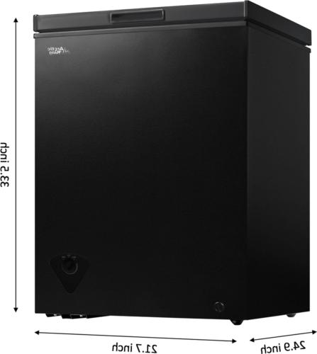 Chest Freezer Cu Upright Apartment Home Black NEW