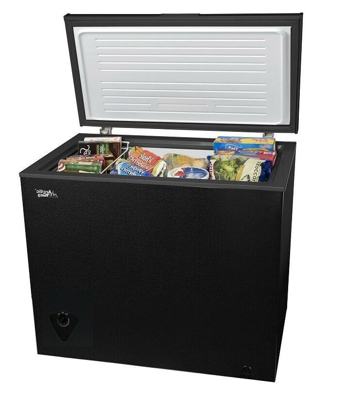chest deep freezer compact dorm apartment home