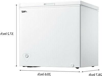 Chest White 5 Cu Ft efficient Small