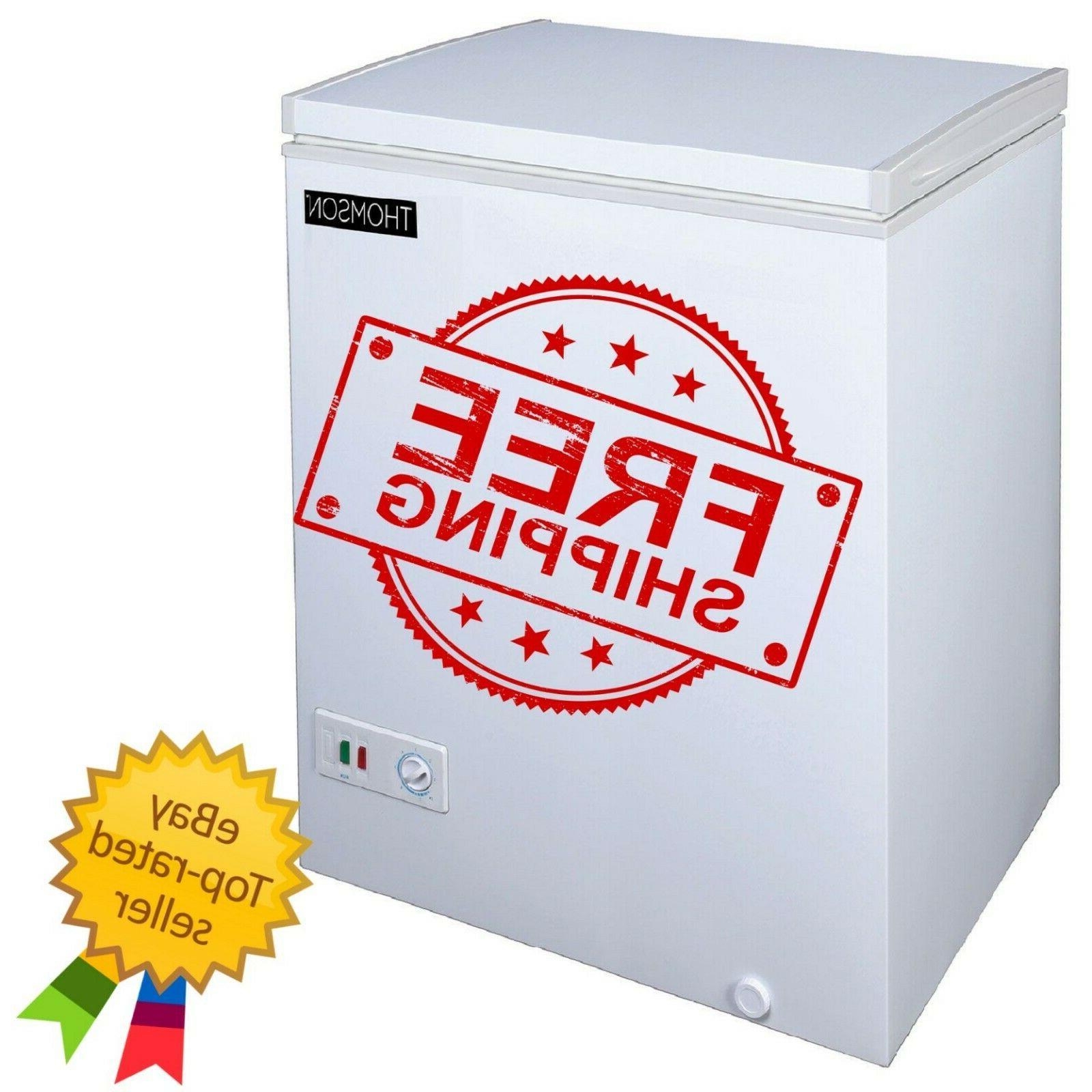 RCA Thomson TFRF520 Chest Deep Freezer Ft 5.0 Cu White Capacity 5