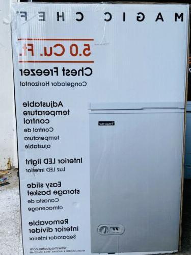 magic chest freezer 5cu Ft.