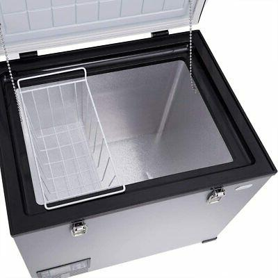 COSTWAY Chest 63-Quart Compressor Refrigerator 3