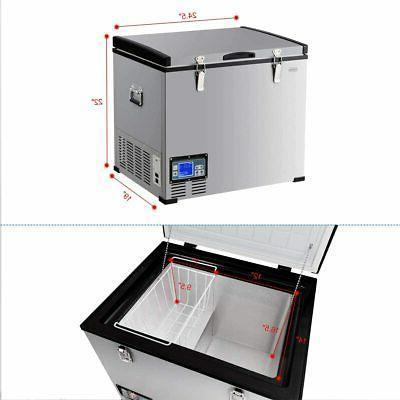 COSTWAY Chest Freezer, Compressor Travel 3 Levels,