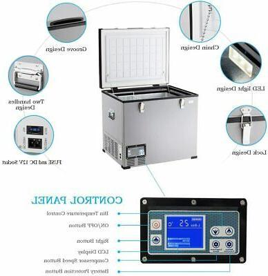 COSTWAY Freezer, Compressor Travel 3