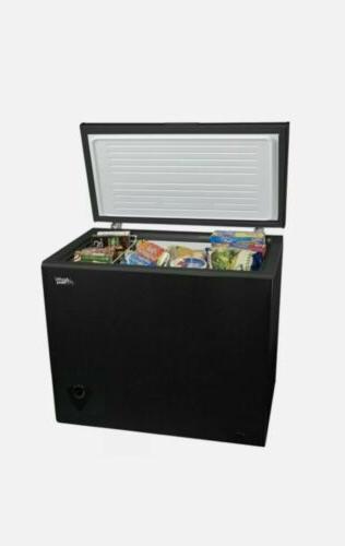 chest freezer 7 cu ft black fast
