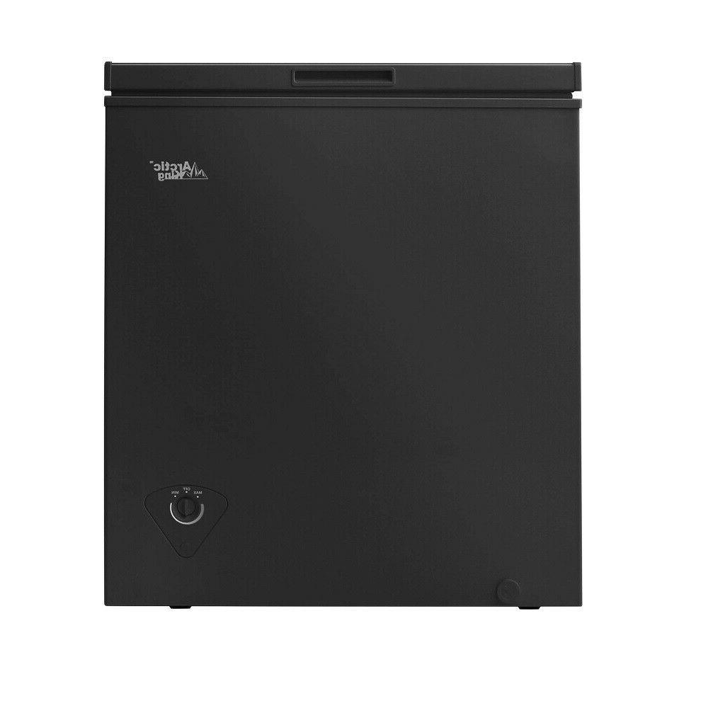 Deep Chest Compact Defrost Cu Ft Black New