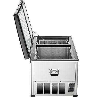 VEVOR Chest Freezer Freezer 2 Doors w/
