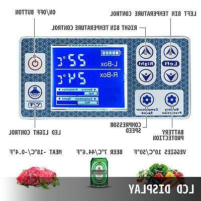 VEVOR Freezer Portable Freezer 2 w/ Basket