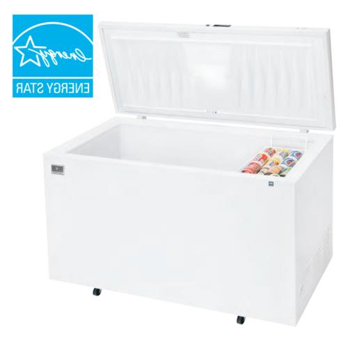 commercial kccf210wh chest freezers new