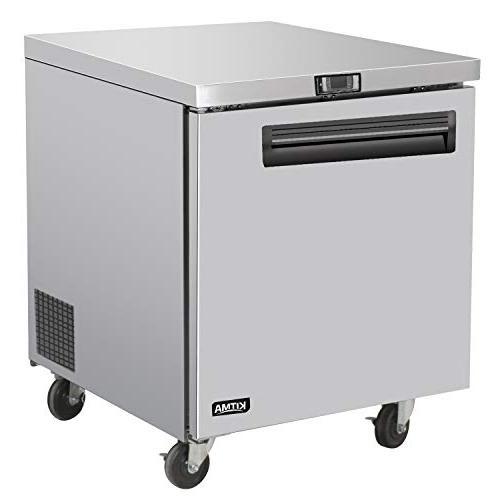 commercial single door undercounter freezer