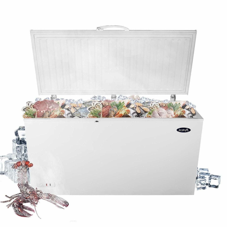 commercial top chest freezer 9 6 cu