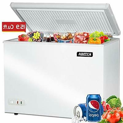 Commercial Top - 15.9 Cu. Ft Deep Freezer with 2