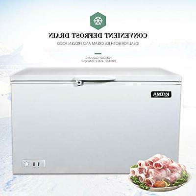 Commercial Top Chest Freezer - 15.9 Cu. Ft Ice Freezer