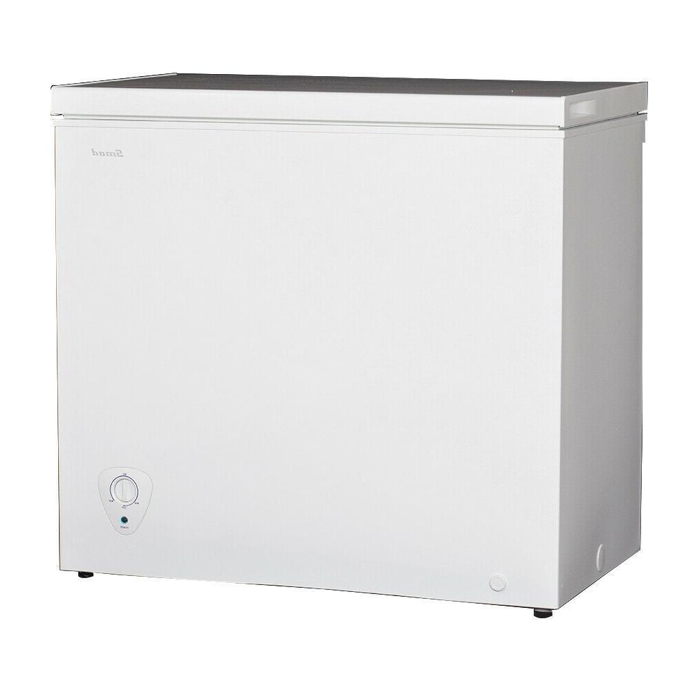 Smeta 7 Chest Freezer Whie Basket