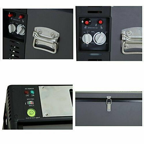Smeta Compact Absorption Refrigerator Mini Freezer 2.5 Cu