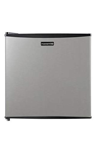 Emerson 1.6-Cubic Compact Single Stainless Steel