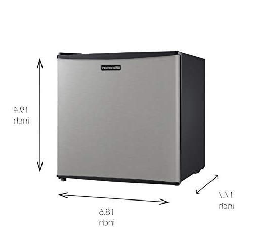Emerson Compact Door Refrigerator, Stainless Steel